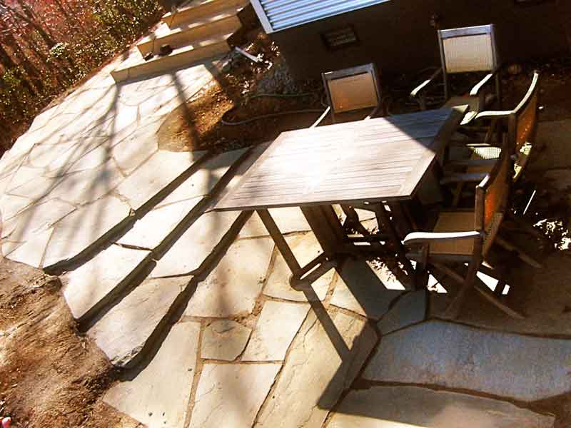 Seven Ton Patio in Black Mountain