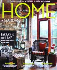 Western North Carolina Home and Garden Magazine 2013 summer cover