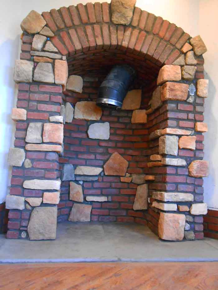 Wood-stove-alcove-brick-and-stone